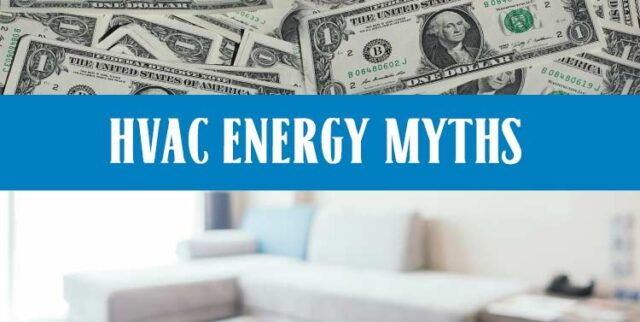 Energy Cost saving myths Charlotte NC